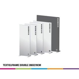 Textielframe double 200x270cm