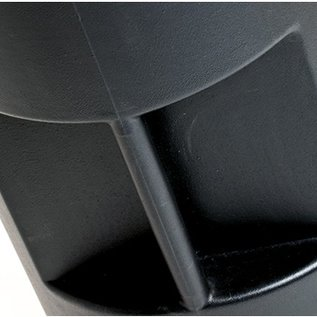 Carry bag  - Hardcase - 65x80cm inside size - black with wheels
