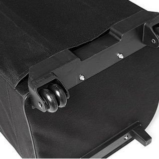 Carry bag - Case - 33x30x85cm binnemaat - zwart met wielen en uitschuifbare greep