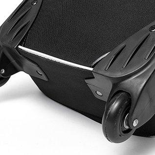 Carry bag  - Transport - 25x119x17cm binnemaat - zwart met wielen en greep