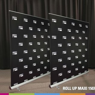 Roll up maxi tot 2,7M hoog !