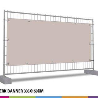 Hekwerk banner 336 x150cm