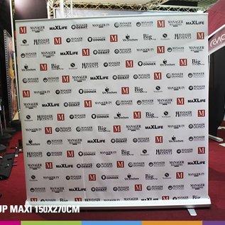 Roll up maxi (150x270cm) Prijs voor 4 stuks