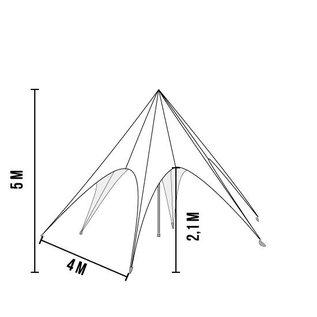Startent 15 (8M Diameter) - Kleur - Velcro