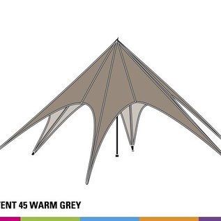 Starshade 45 (14M diam) - Warm grey - out of stock