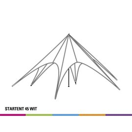 Starshade 45 (14M diam) - White  - Out of stock