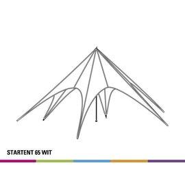Startent 65 (16M diam) - Wit - Velcro