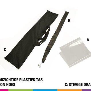 Vlag drop 210cm - strong fiber mast (prijs voor 4 stuks)
