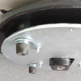 Weight: steel plate