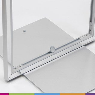 Magnetic frame solid: 150x40cm