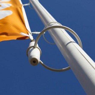 TUSSENBINDERS  VOOR BEVESTIGING VLAG ROND MAST