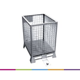 Metal cage - 60x50x75cm