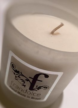 "Frandolce Organic Soja Candle Frandolce, ""Maracujá & Amora"" Maracujá & Mora"