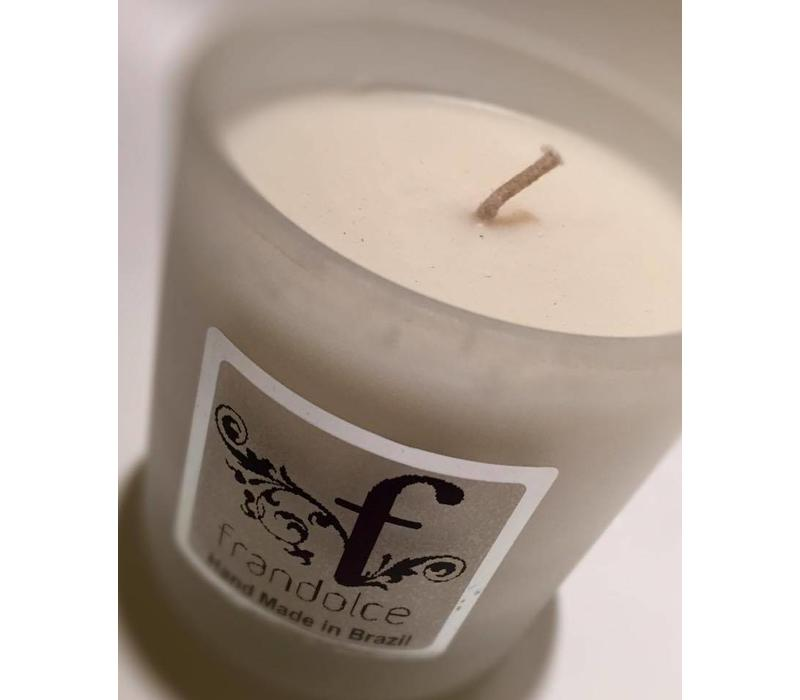 "Organic Soja Candle Frandolce, ""Maracujá & Amora"" Maracujá & Mora"