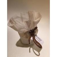 "Organic candle Frandolce, ""Castanha & Papaia"" Chesnut & Papaya"