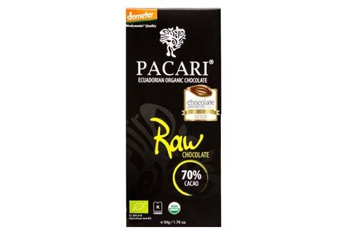 PACARI Bio Schokoladentafel 70% Raw