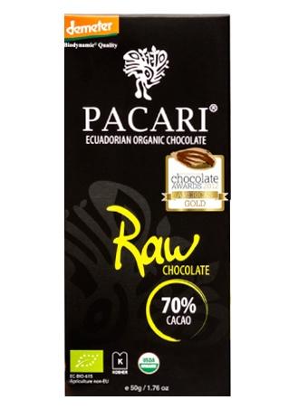 PACARI Pacari Bio Schokoladentafel Raw 70%