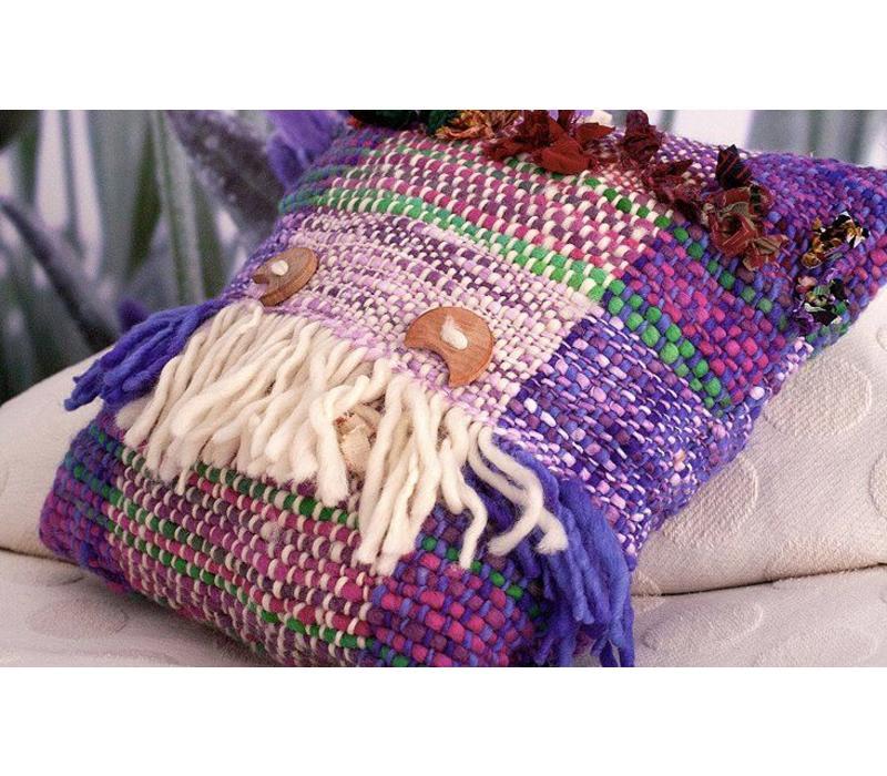Kissen Wolle Handgewebt, Ivette Sauterel Collection