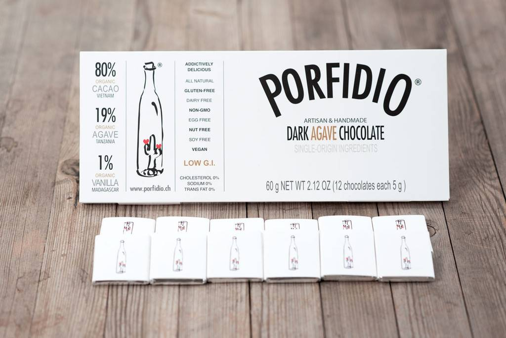 Porfidio Dark Agave Chocolate by Porfidio