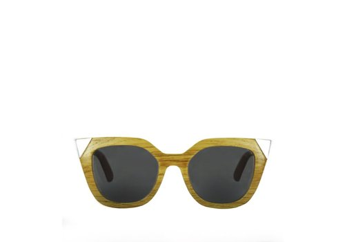 Flor Amazona Wood Sunglasses Flor Amazona Silver