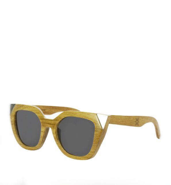 Flor Amazona Wood Sunglasses Flor Amazona Silver