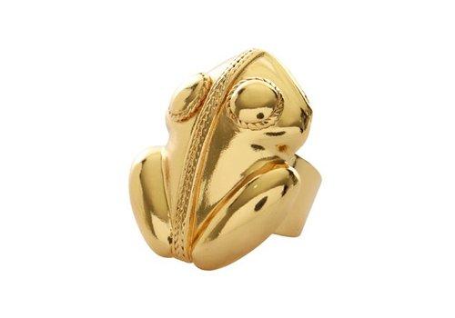 Flor Amazona Ring Flor Amazona, El Dorado Gold
