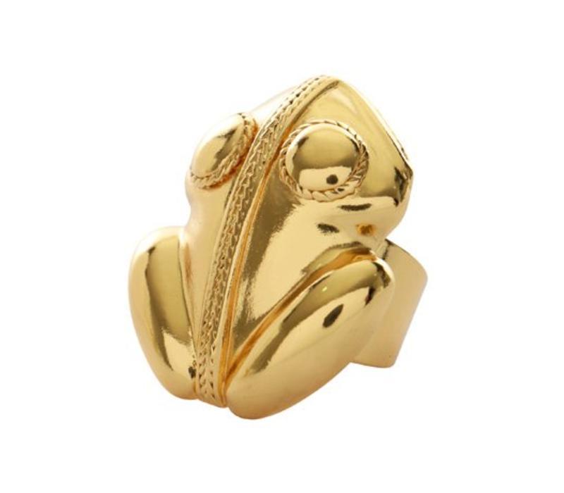 Ring Flor Amazona, El Dorado Gold