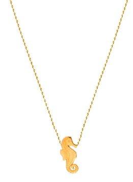 Flor Amazona Necklace Flor Amazona, Seahorse Gold