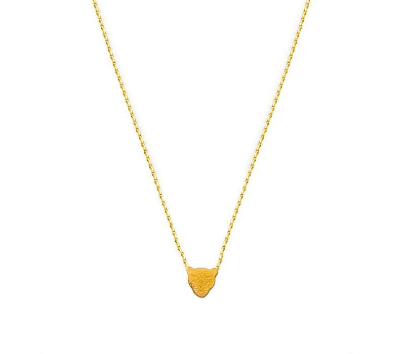 Collier Flor Amazona, Jaguar Gold