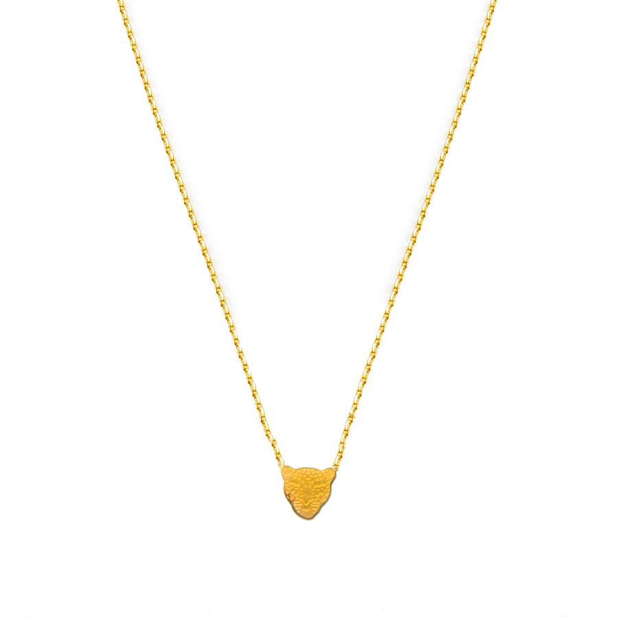 Flor Amazona Necklace Flor Amazona, Jaguar Gold