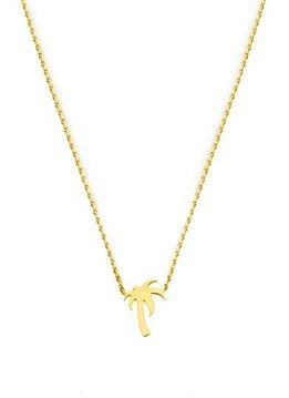 Flor Amazona Necklace Flor Amazona, Palm Gold