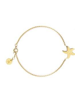 Flor Amazona Bracelet Flor Amazona, Starfish Gold