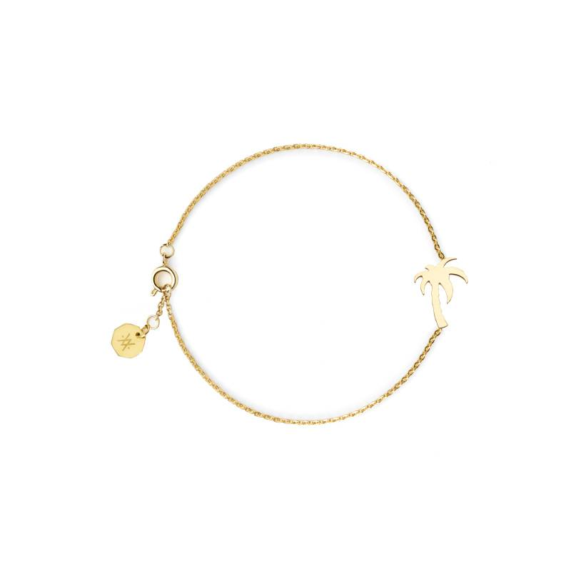Flor Amazona Armband Flor Amazona, Palm Tree Gold