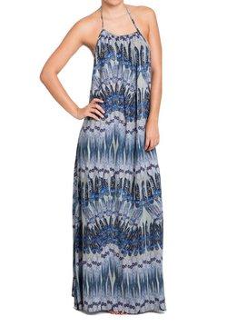 Antilope Maxi Dress Antilope, Blue Pheasant Peace