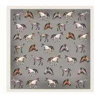 Silk Scarf, Antilope, Horses