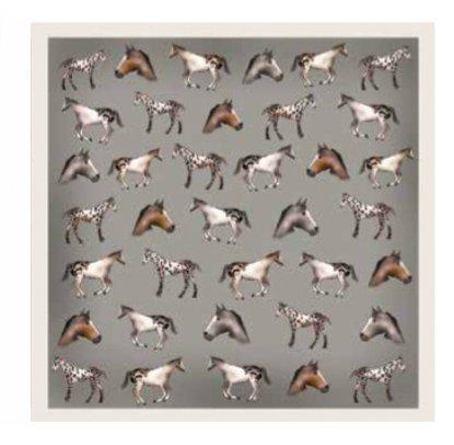 Antilope Seidenschal Antilope, Horses