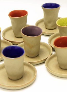 "Mario Brandao Espresso cup ceramic ""Favella Collection"""