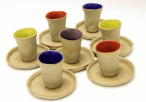 "Mario Brandao Espressotasse Keramik ""Favella Collection"""