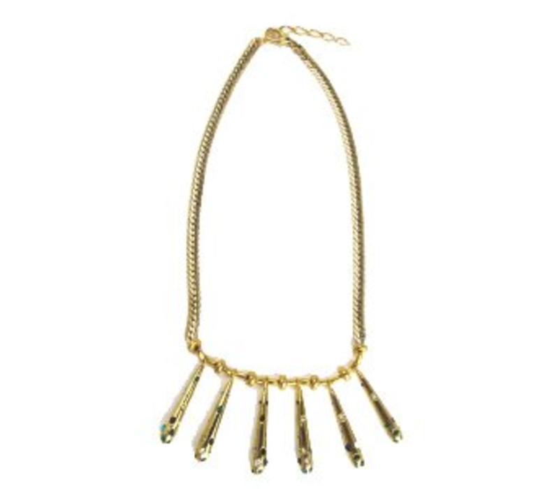 Necklace Polly Lux, Pajaro Limon