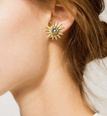 Pajaro Limon Earrings Ralia, Pajaro Limon