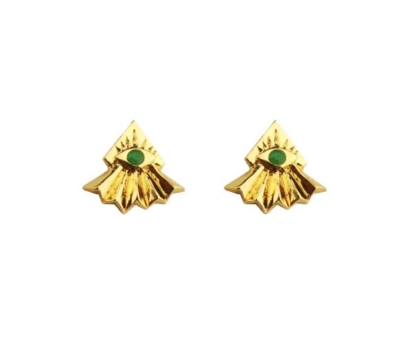 Earrings Opus, Pajaro Limon