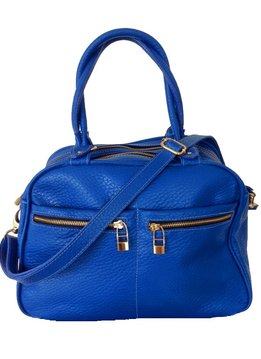 Flavio Dolce Leather bag, Blue, Flavio Dolce