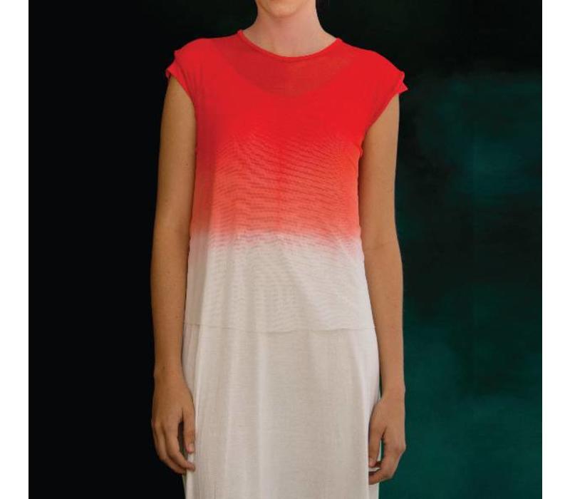 Kleid Coral fate, Entreaguas