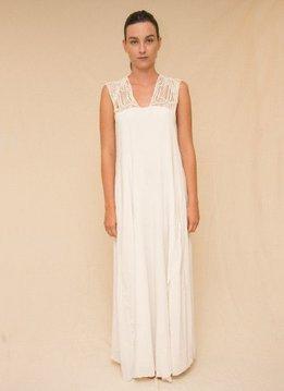 Entreaguas Dress Ivory Sandstorm, Entreaguas