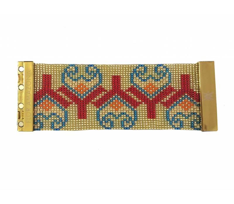 Bracelete Flor Amazona, Tulip