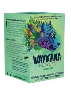 Waykana Guayusa Tea bags, Waykana, Ecuador