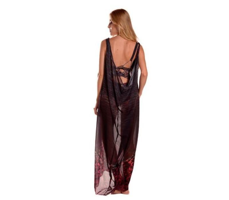 Kleid Entreaguas, Sophisticated long dress