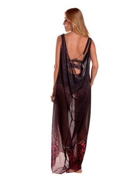 Entreaguas Kleid Entreaguas, Sophisticated long dress