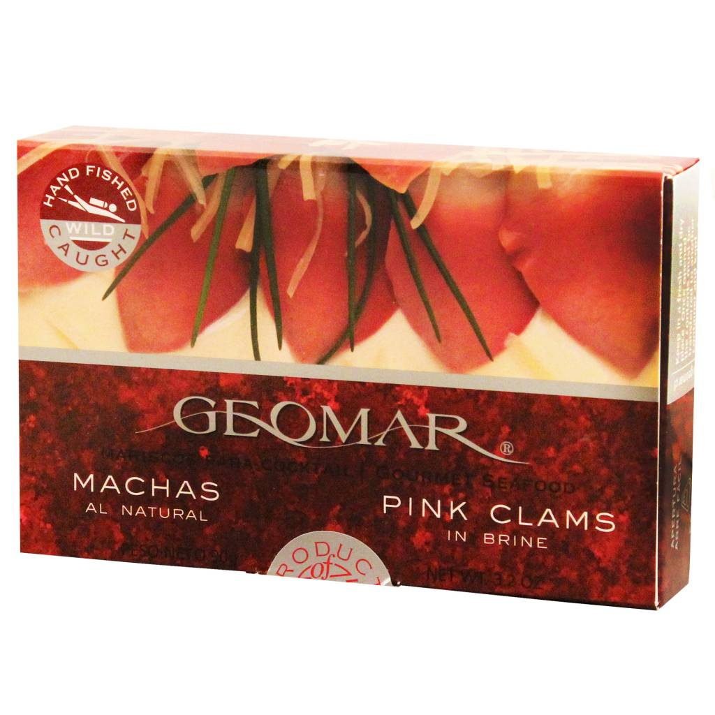 Geomar Machas Geomar - chilean pink Clams