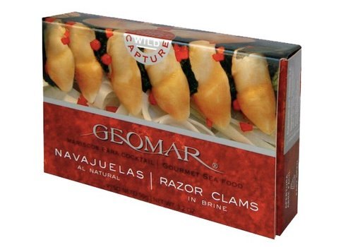 "Geomar ""NAVAJUELAS"" CHILEAN RAZOR CLAMS"
